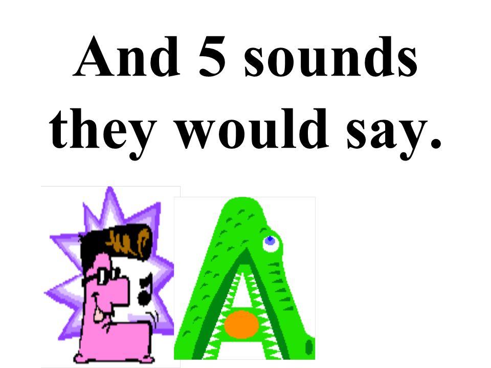 E, e, R, er, A