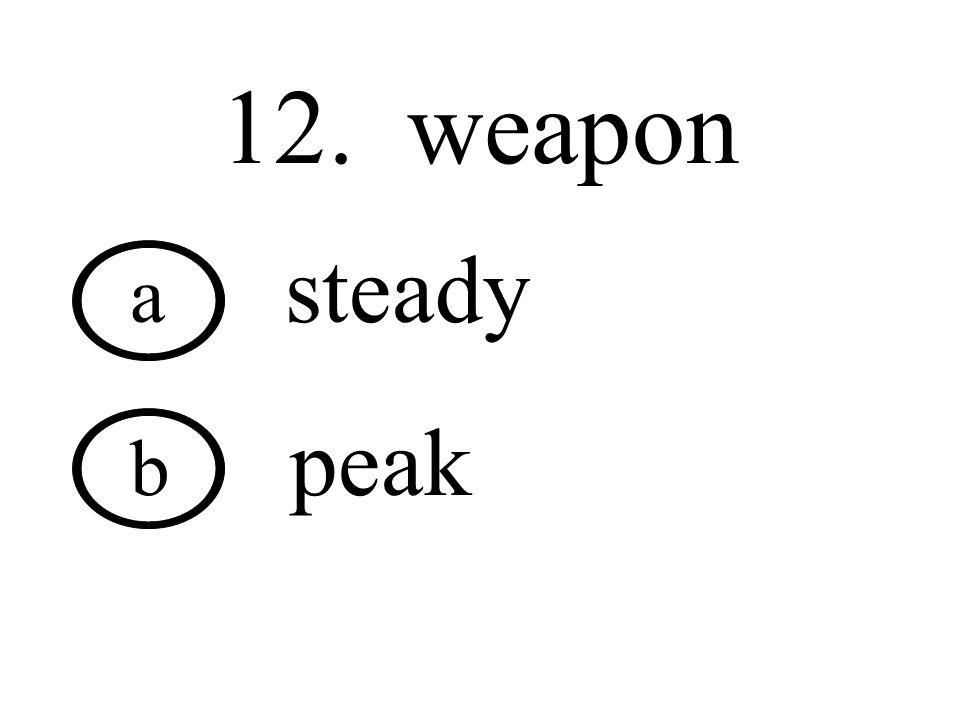 11. break a great b heard