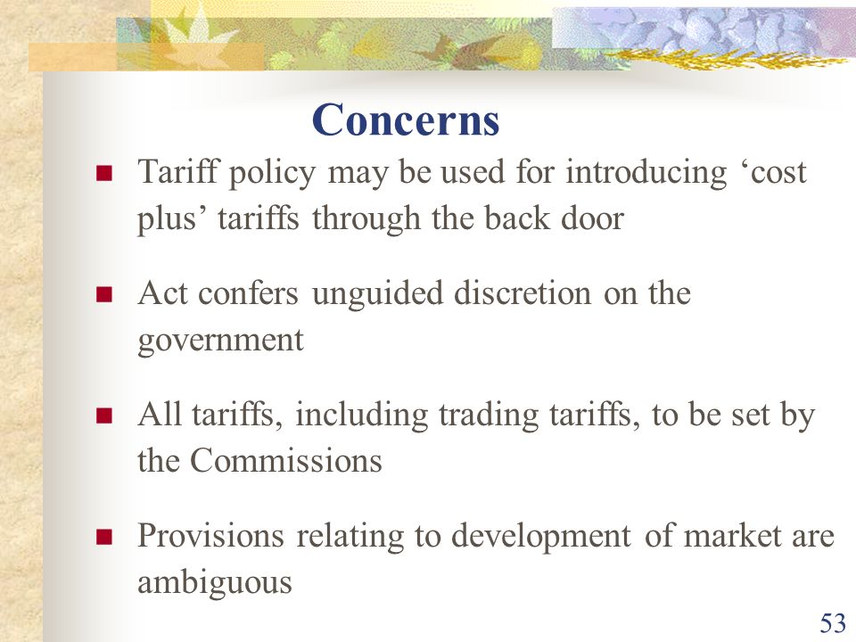 52 66. …..Commission shall endeavor to promote the development of a market (including trading) Development of market