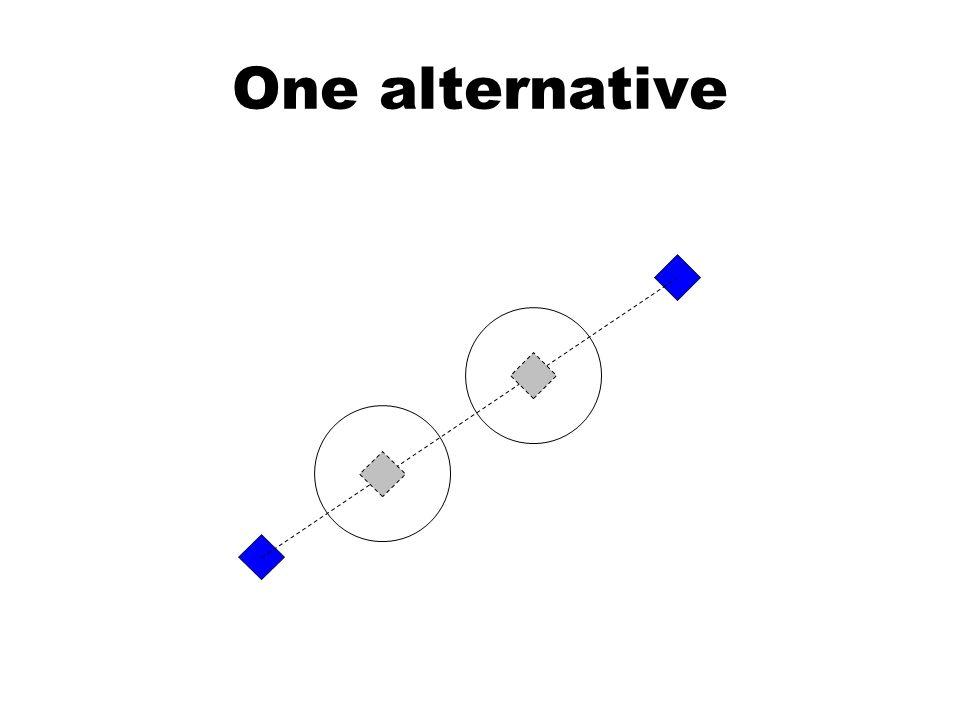 One alternative