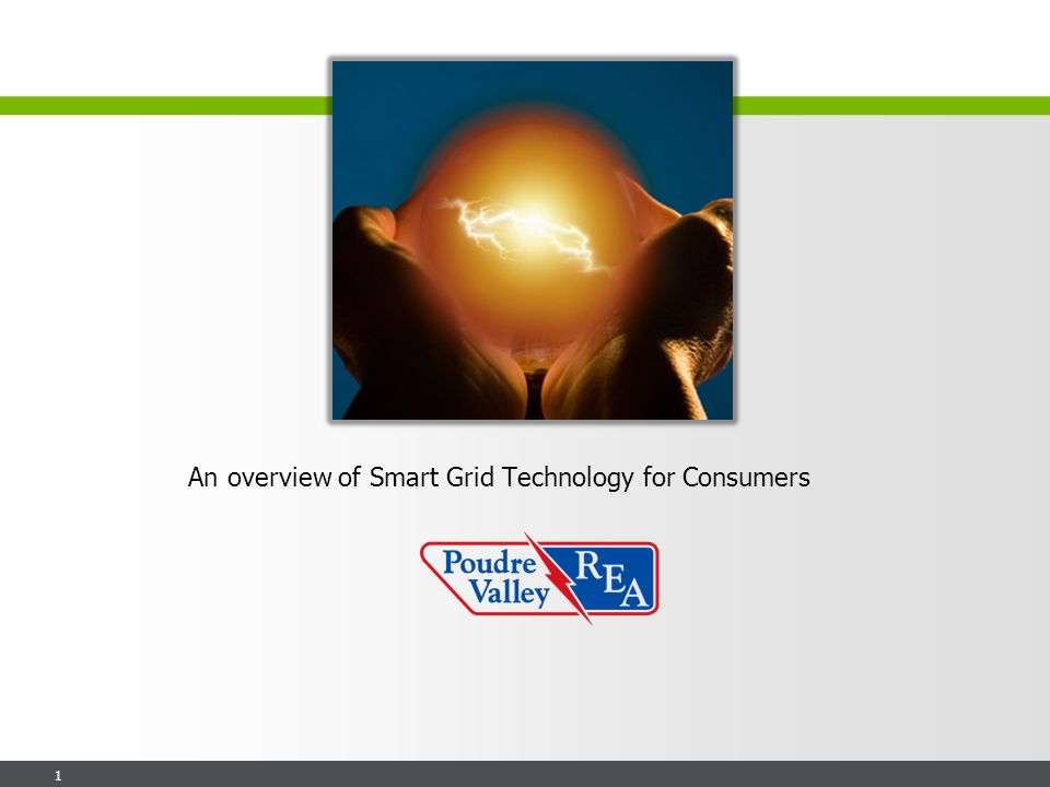 1 An overview of Smart Grid Technology for Consumers