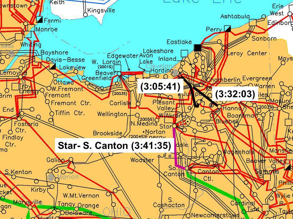 33 (3:05:41) (3:32:03) Star- S. Canton (3:41:35)