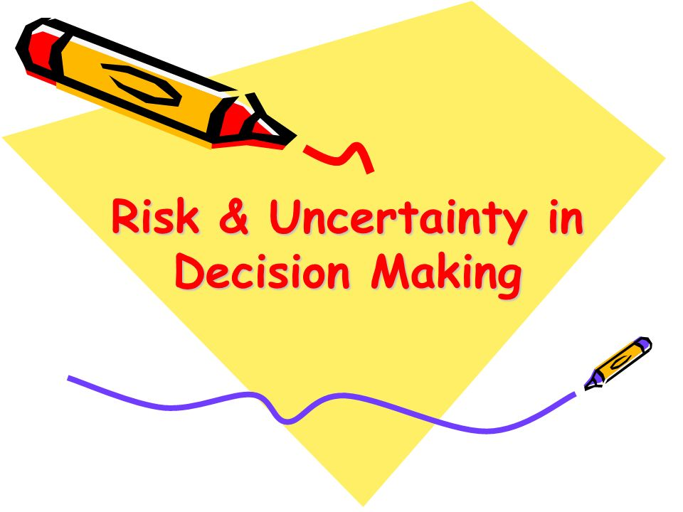 Topics to be discussed Describing & Differentiating Risk from Uncertainty Role of Risk in Crime Deterrence Preferences Toward Risk Mechanisms for Reducing Risk Demand for Risky Assets (optional)