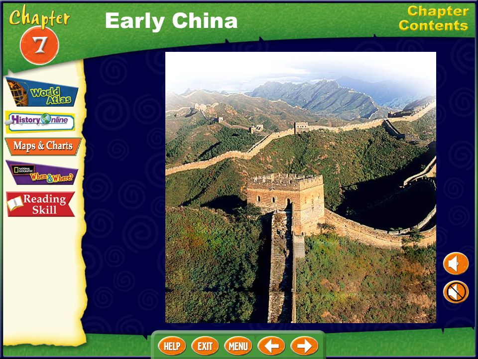 Chapter Objectives Discuss how river valleys, mountains, and deserts influenced the development of Chinese civilization. Discuss how the lack of order