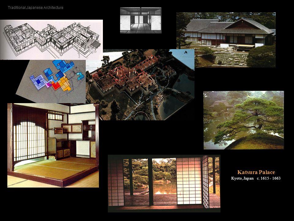 Katsura Palace Kyoto, Japan c. 1615 - 1663 Traditional Japanese Architecture