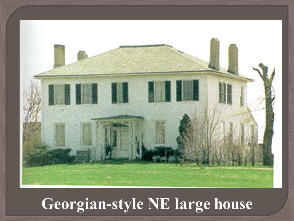 Georgian-style NE large house
