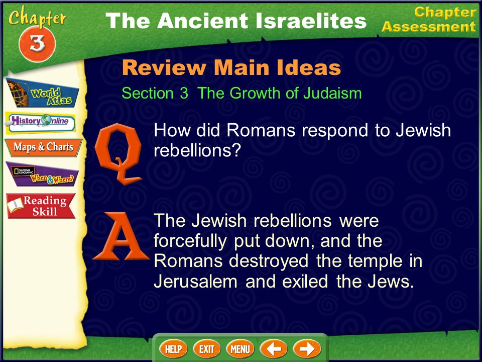 Section 3 The Growth of Judaism How did Jewish ideas spread throughout the Mediterranean world? Some Jews of the Diaspora copied the Hebrew Bible into