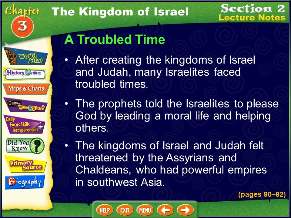 Why did David want to build a temple in Jerusalem? David wanted the Israelites to have a permanent place for their sacred religious objects. The Kingd