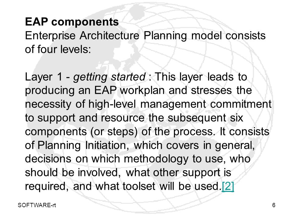 SOFTWARE-rt7 Layer 2 - where we are today : This layer provides a baseline for defining the eventual architecture and the long-range migration plan.