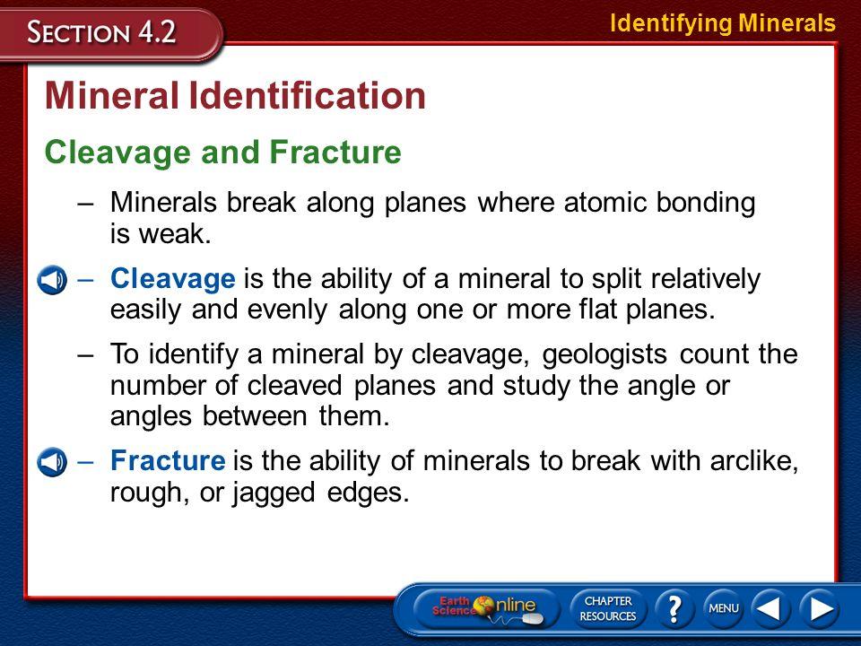 Mineral Identification Hardness Identifying Minerals