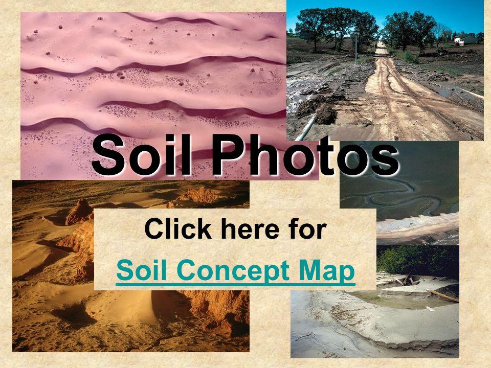 Soil Photos Click here for Soil Concept Map