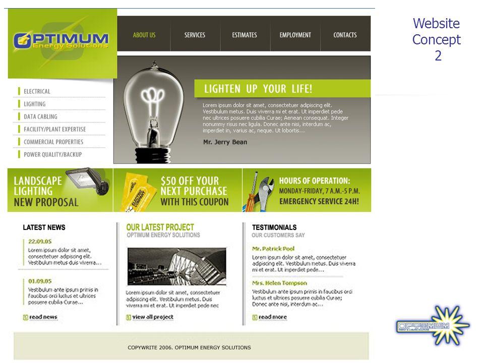 Website Concept 2