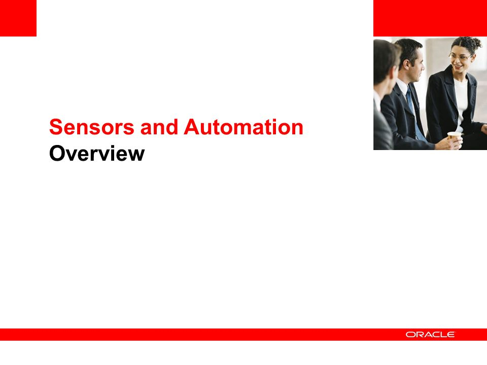 Sensors and Automation Overview