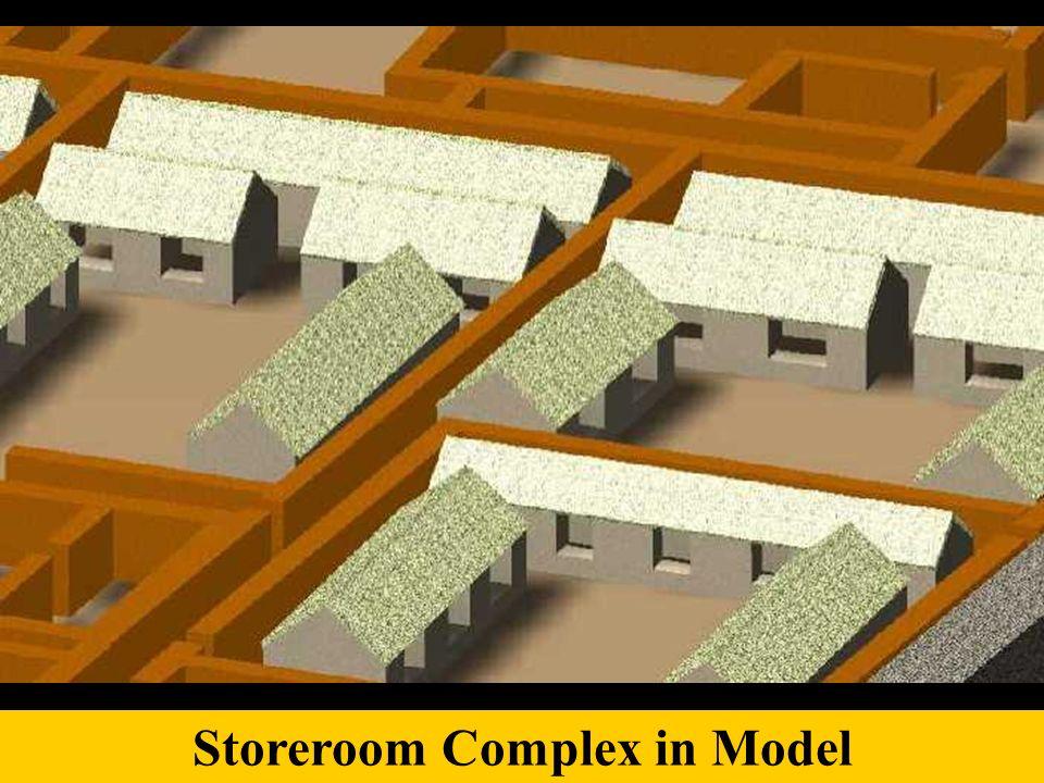 Storeroom Complex in Model
