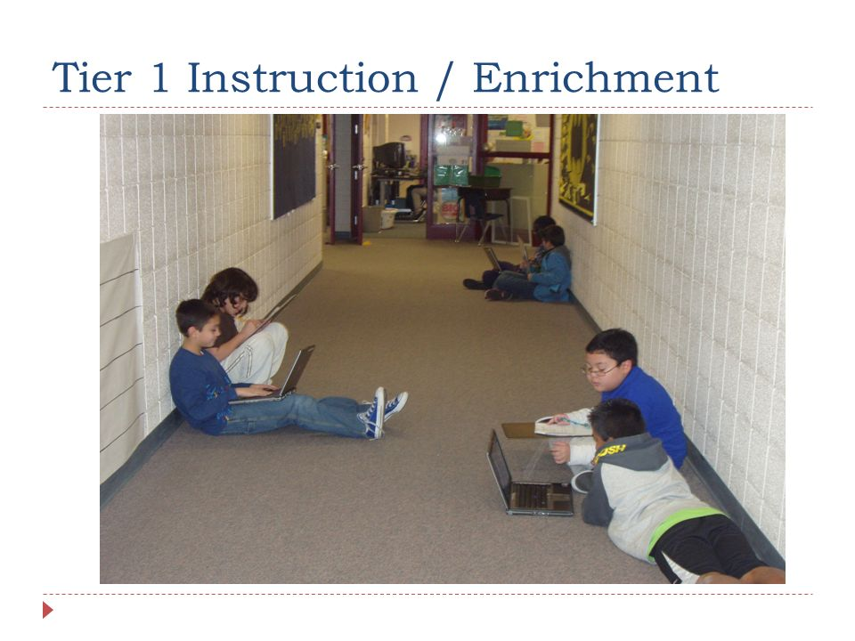 Tier 1 Instruction / Enrichment