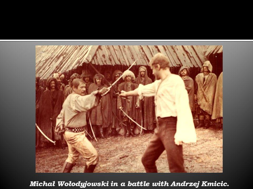 Michał Wołodyjowski in a battle with Andrzej Kmicic.