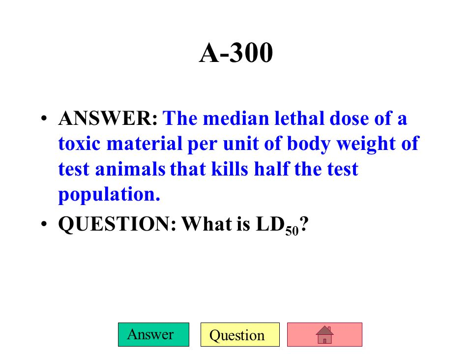 Question Answer A-200 ANSWER: The increase in concentration of a chemical in organisms at successively higher tropic levels of a food chain or web QUE