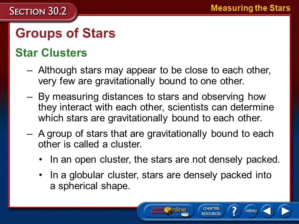 Groups of Stars Constellations are the 88 groups of stars named after animals, mythological characters, or everyday objects. Measuring the Stars –Circ