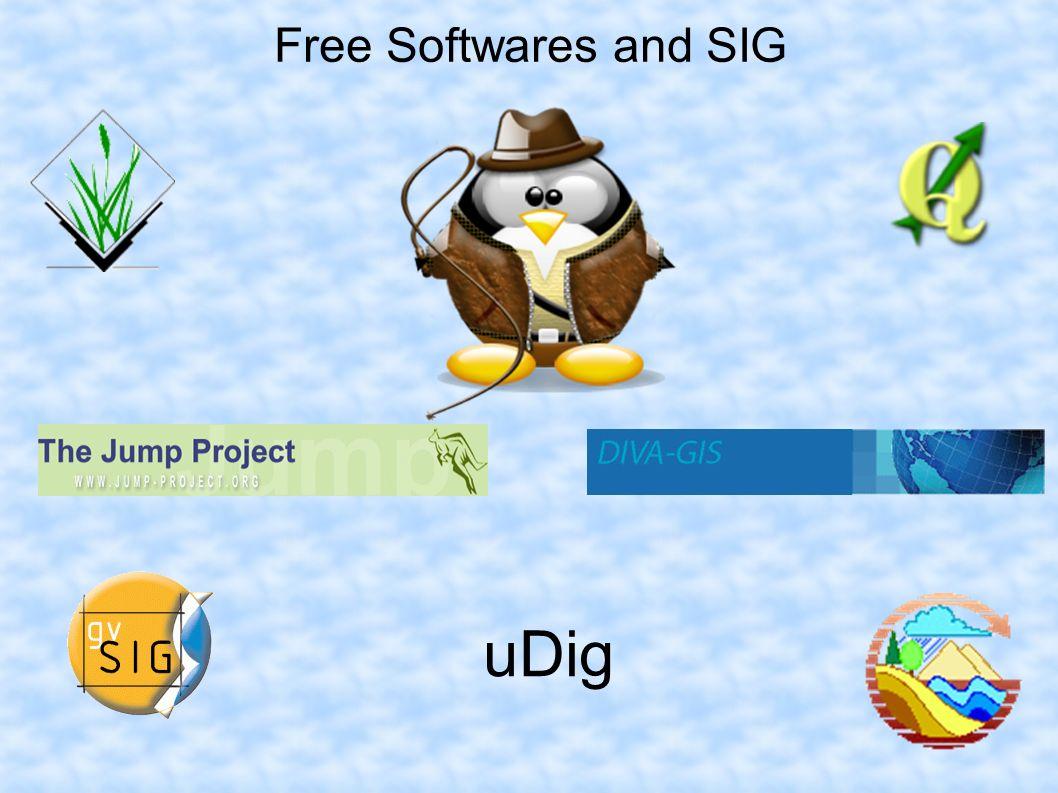 Free Softwares and SIG uDig