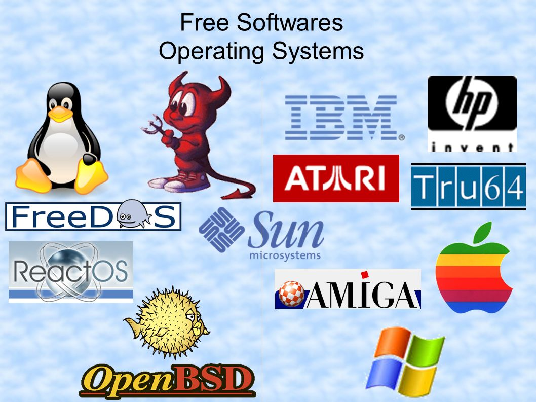 Free Softwares Operating Systems