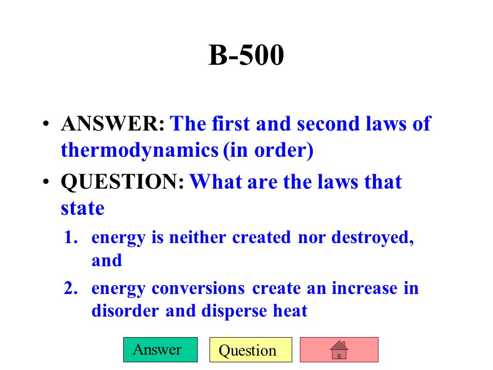 Question Answer B-400 ANSWER: 2 terms for the movement of water through soil and rock QUESTION: What are infiltration and percolation