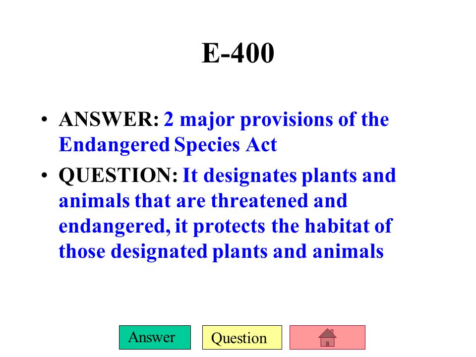 Question Answer E-300 ANSWER: Coevolution and convergent evolution (in that order) QUESTION: What is the situation in which different interacting species evolve together, and the situation in which unrelated species evolve similarly but in different areas