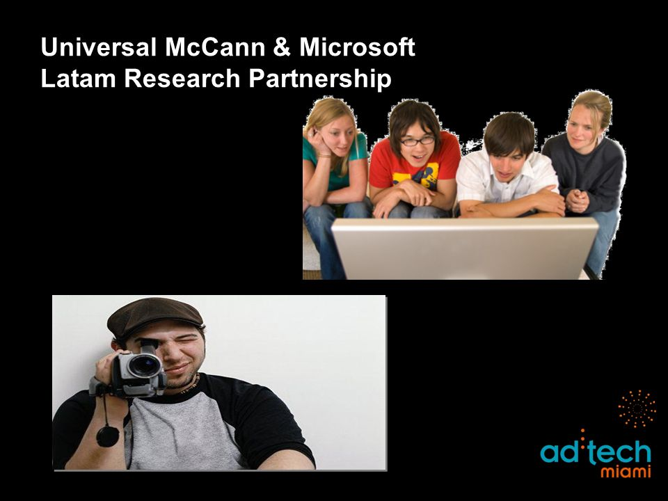 Universal McCann & Microsoft Latam Research Partnership