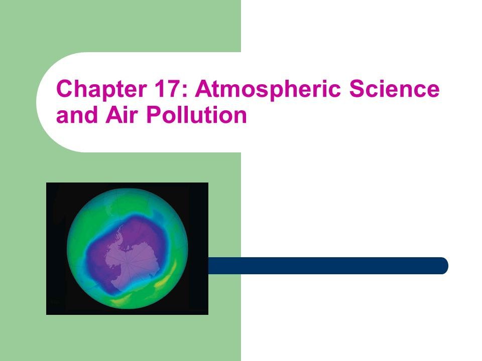 Outdoor Air Pollution air pollutants – natural sources – human made sources