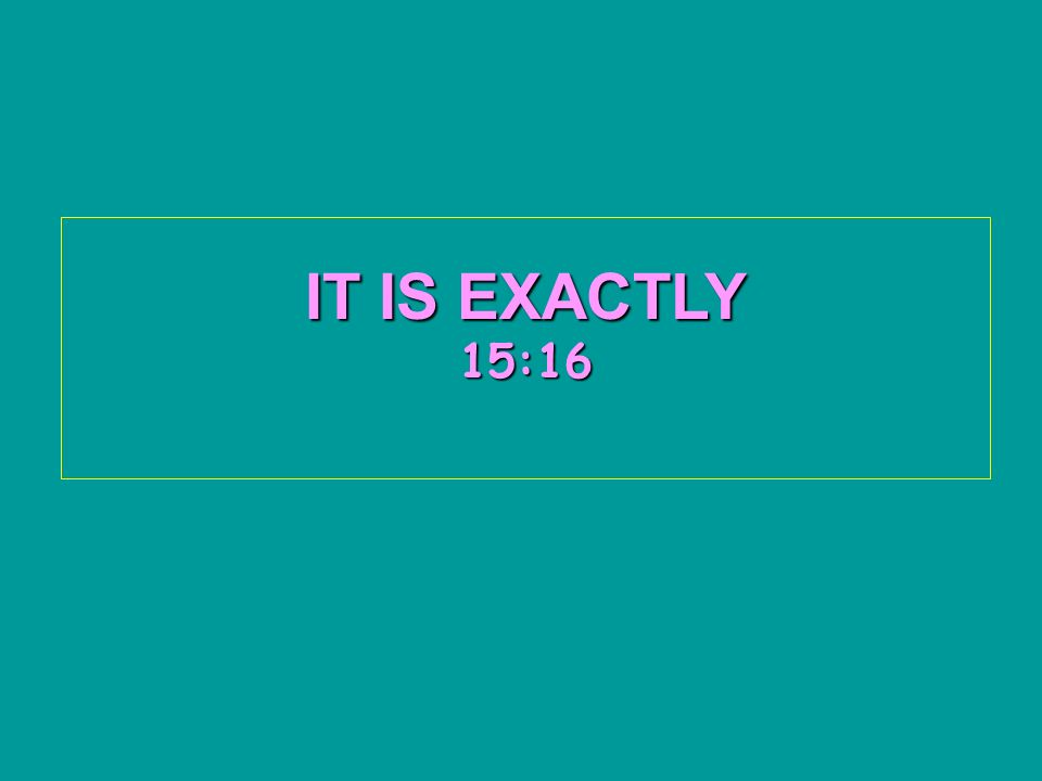 IT IS EXACTLY 15:1815:1815:1815:1815:18