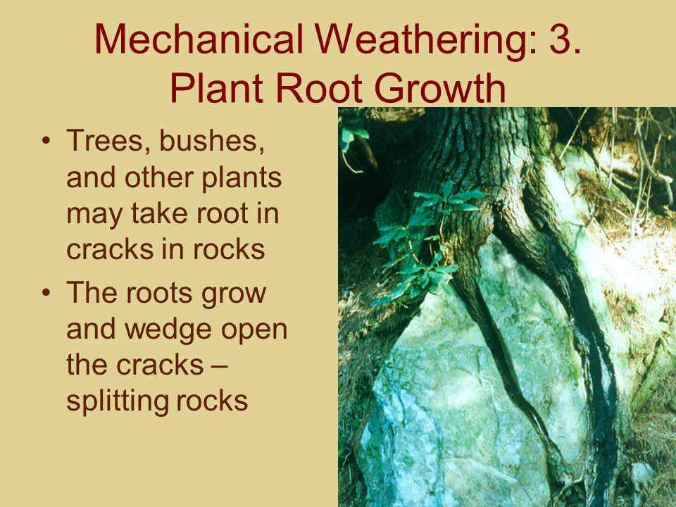 Mechanical Weathering: 4.