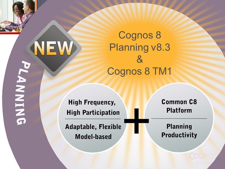 Cognos 8 Planning v8.3 & Cognos 8 TM1