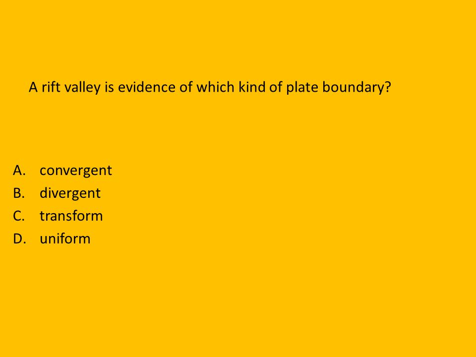 Mountains form at convergent boundaries between ___________ and ___________ plates. Continental