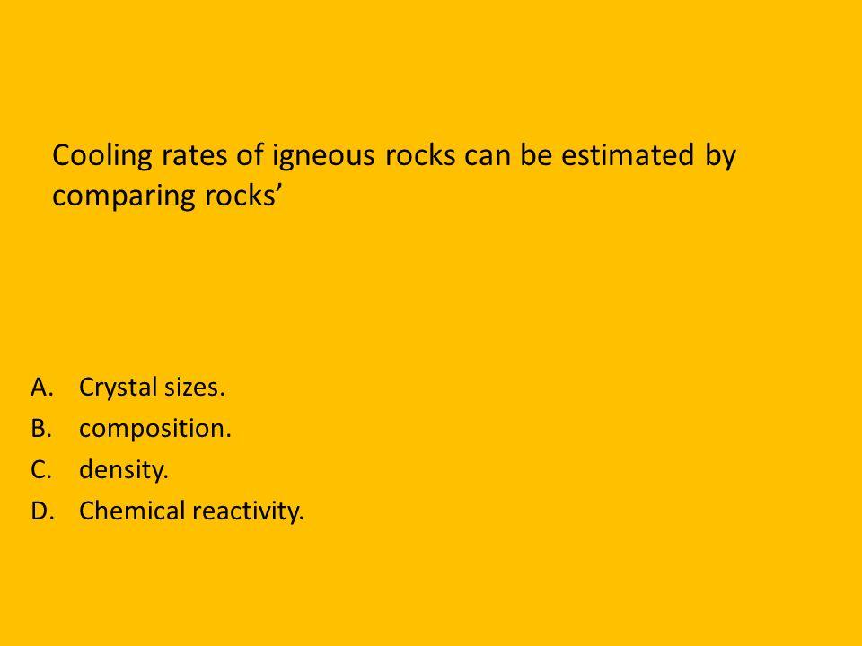 Metamorphic rock is formed when ____________ and _______________change rocks. Heat Pressure