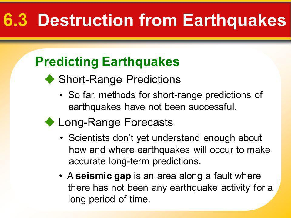 Why is short-term prediction of earthquakes so much less successful than long-term prediction?