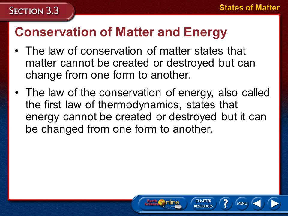 Changes of State Solids melt when they absorb thermal energy and their temperatures rise. States of Matter When a liquid absorbs thermal energy from t
