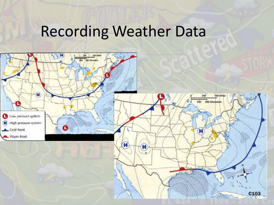 Recording Weather Data