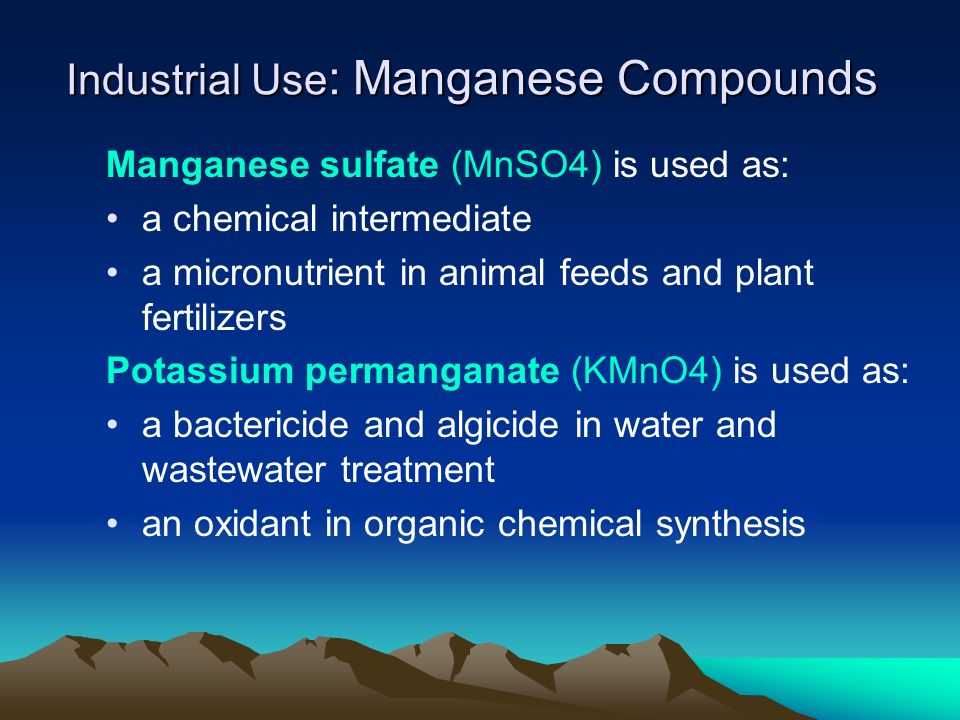 Sources of Manganese In the Earth, manganese is found in a number of minerals of different chemical and physical properties, but is never found as a free metal in nature.