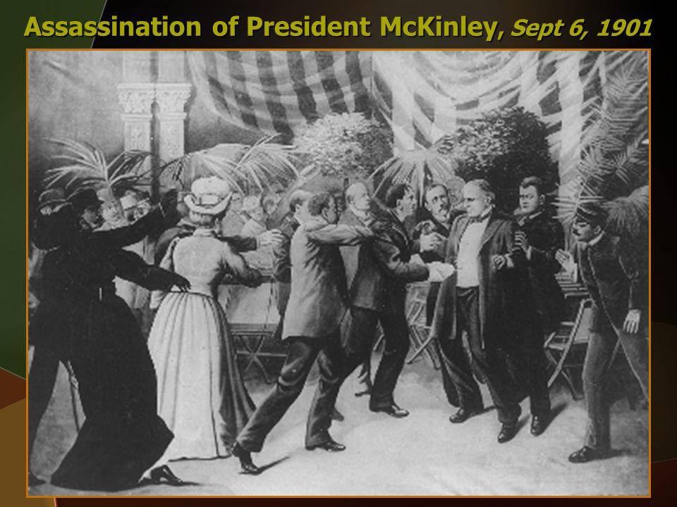Assassination of President McKinley, Sept 6, 1901
