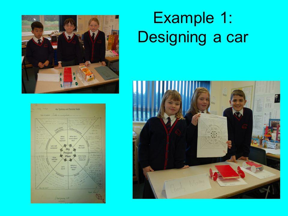 Example 1: Designing a car