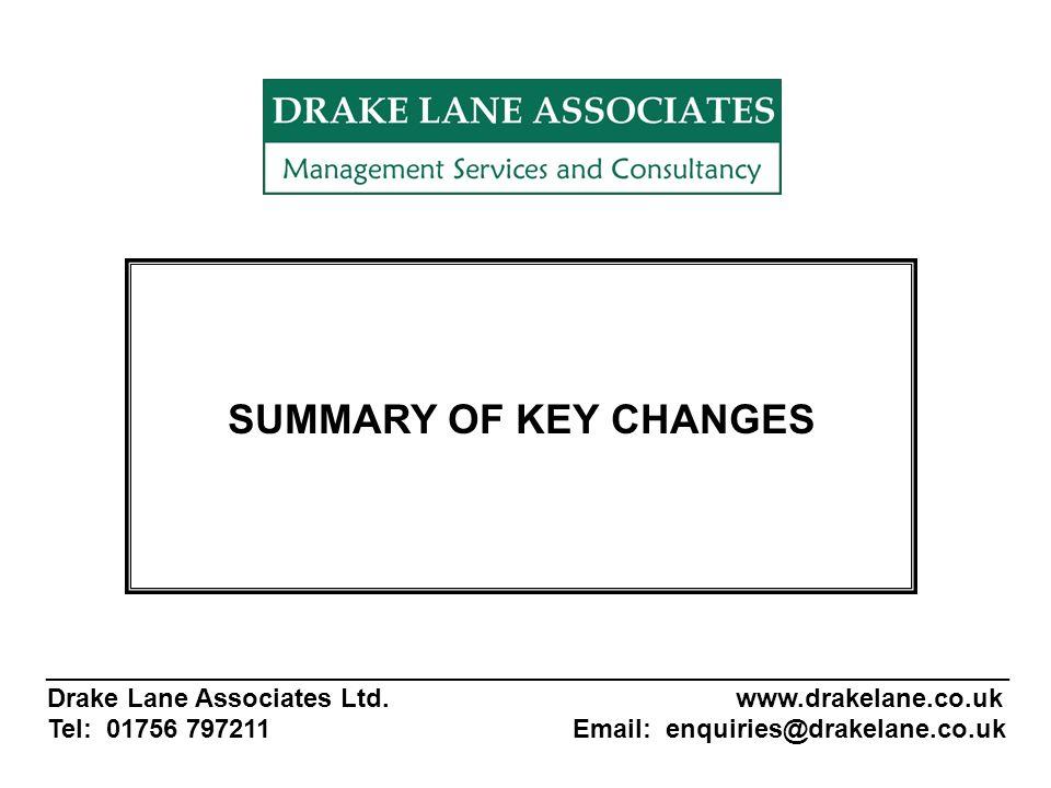 _______________________________________________________ Drake Lane Associates Ltd.