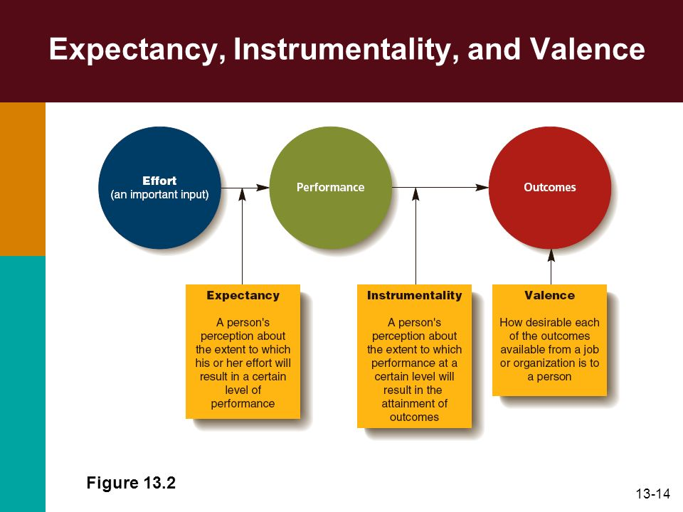 13-14 Expectancy, Instrumentality, and Valence Figure 13.2