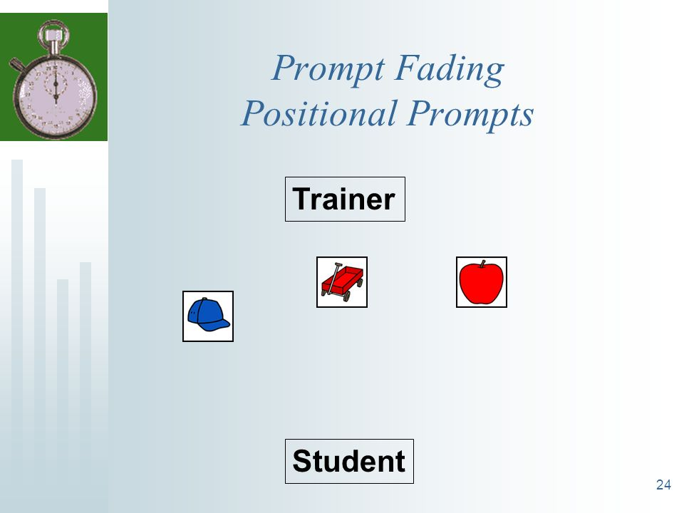 24 Prompt Fading Positional Prompts Trainer Student