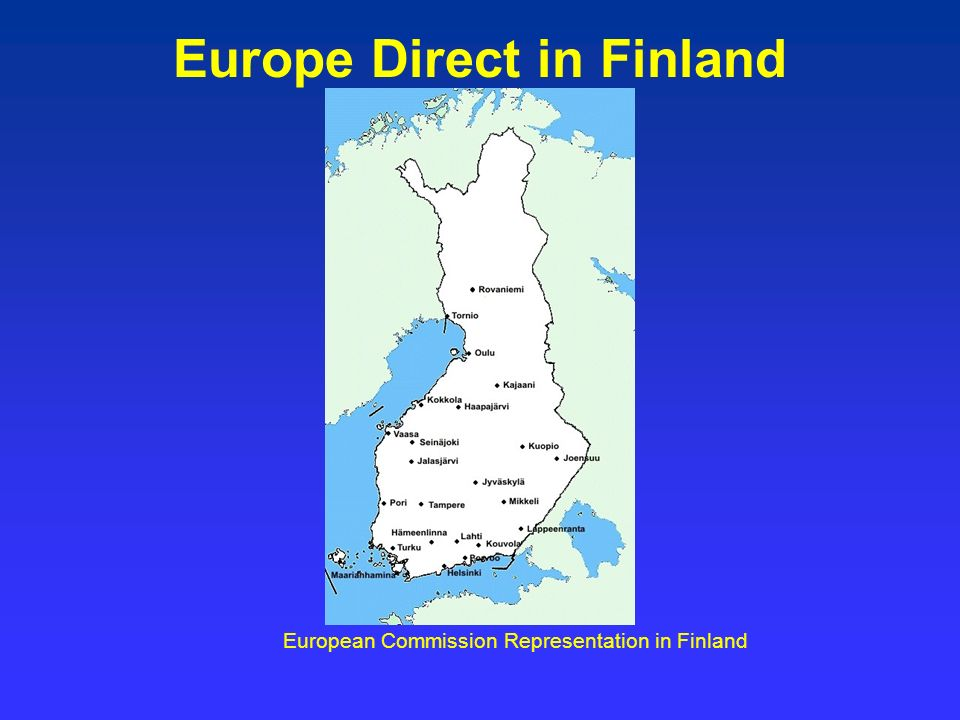 Europe Direct in Finland European Commission Representation in Finland