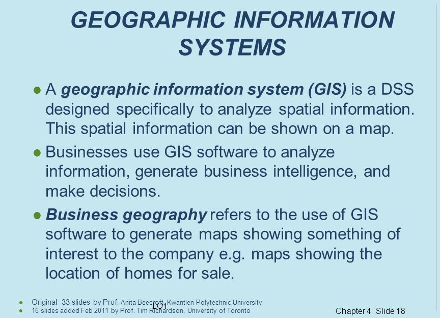 Chapter 4 Slide 18 Original 33 slides by Prof.