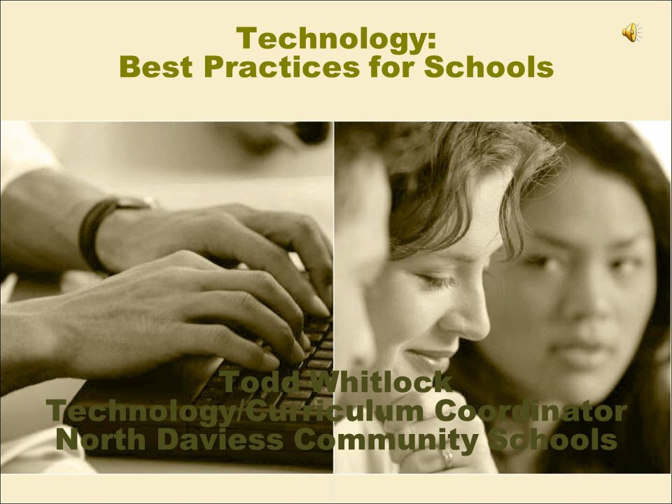 Items to discuss Leadership New technologies 1:1 computing Textbook alternatives Creative budgeting