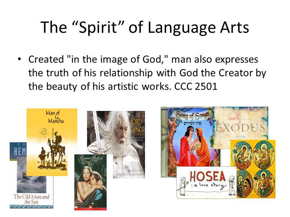 The Spirit of Language Arts Created