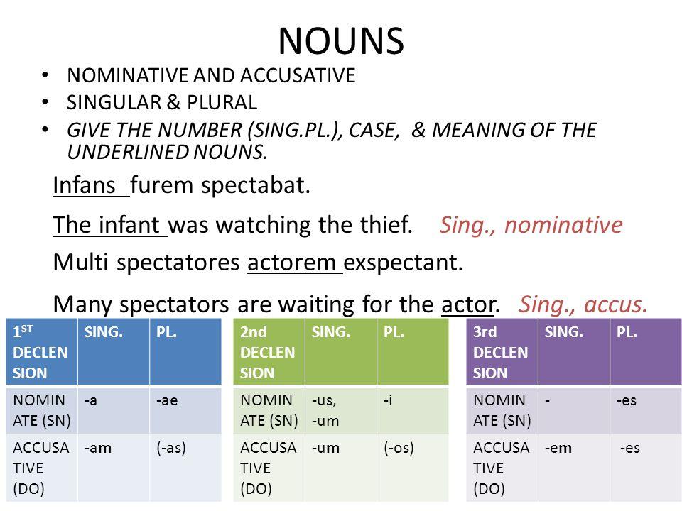 NOUNS CONT.SELECT THE CORRECT NOUN OR PRONOUN _____furem pulsat.