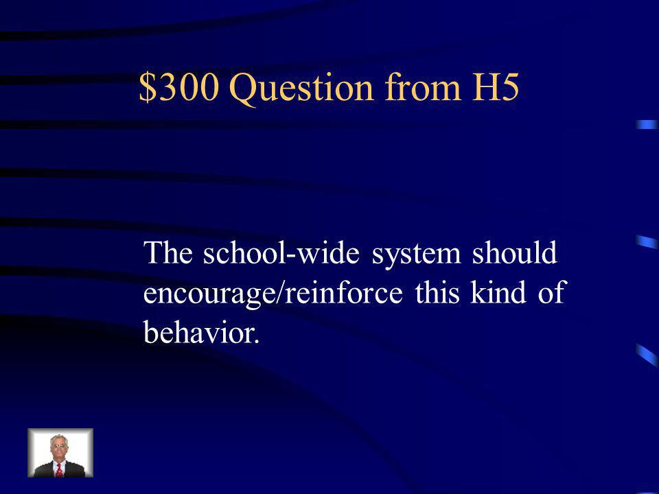 $200 Answer from H5 What is 80-90 %?
