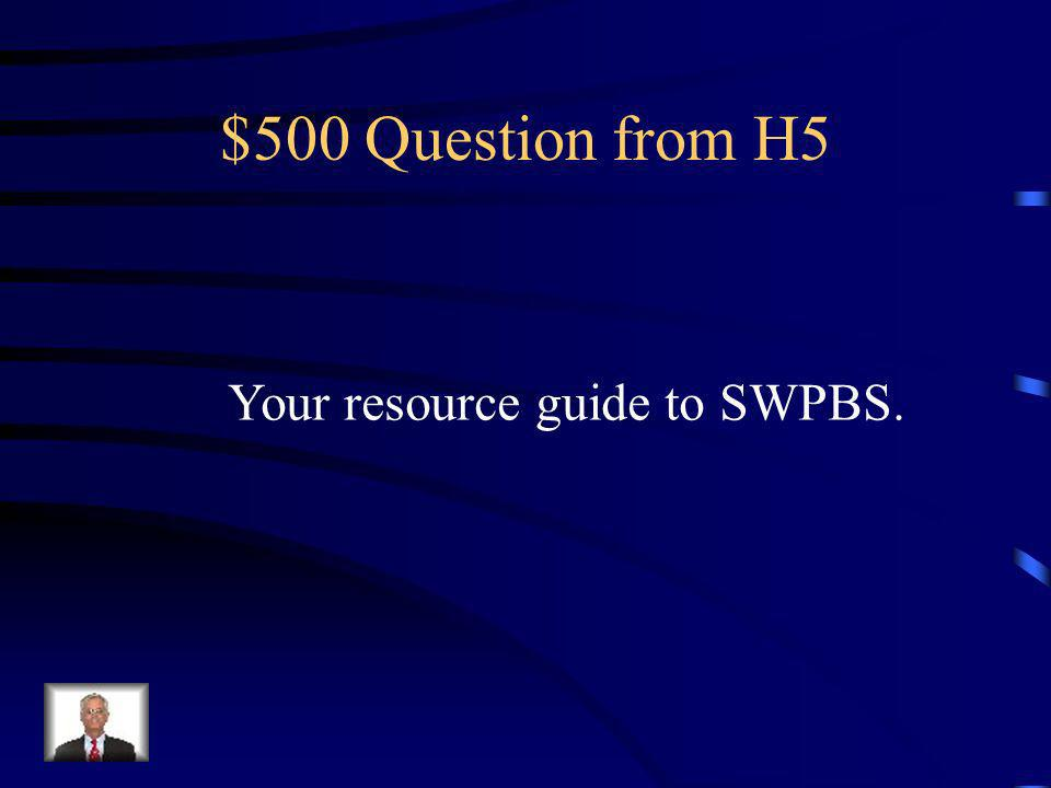 $400 Answer from H5 What are lesson plans?