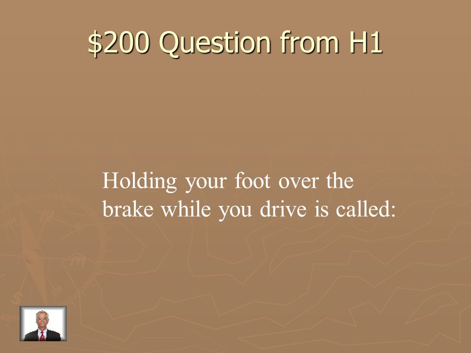$100 Answer from H1 space cushion